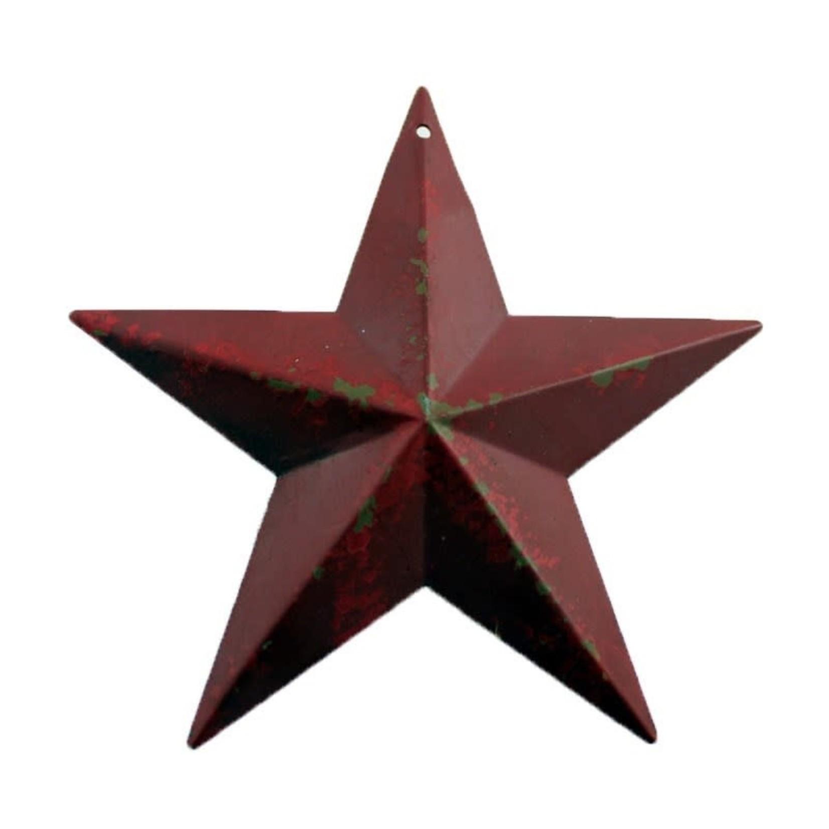 Antique Star - Red
