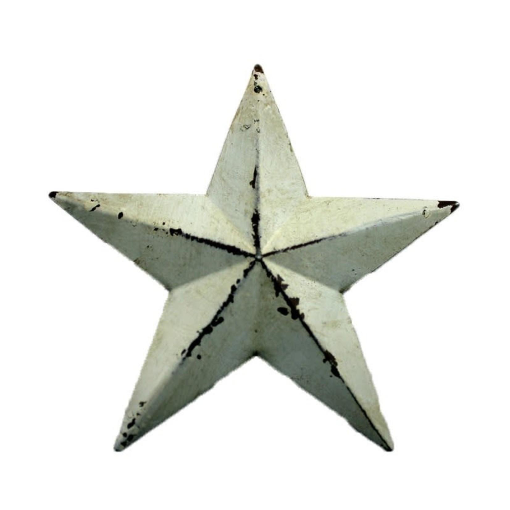 Antique Star - White