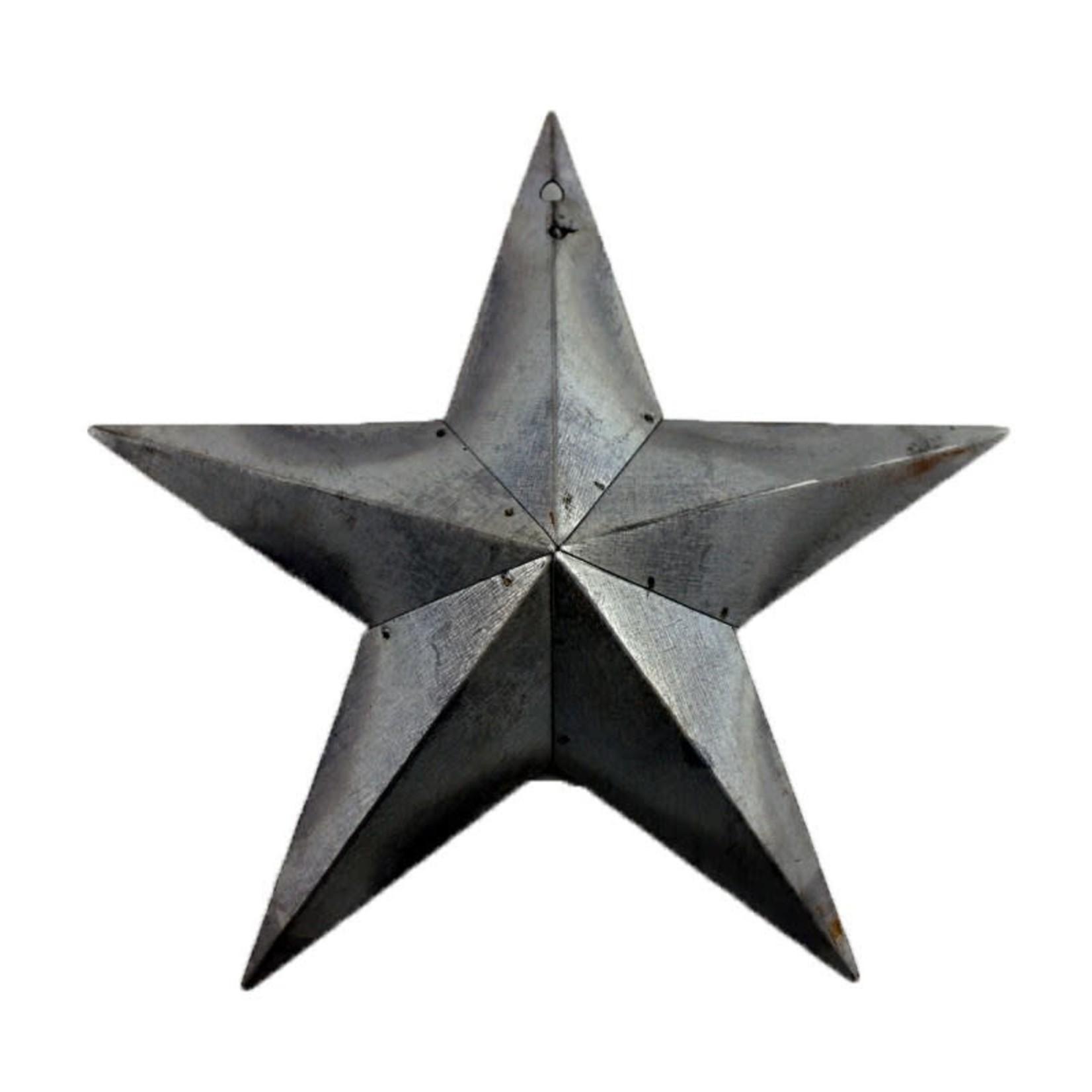 Galvanized Star Wall Decor