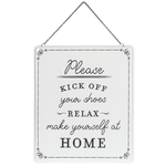 Kick Off Your Shoes - Wall Sign