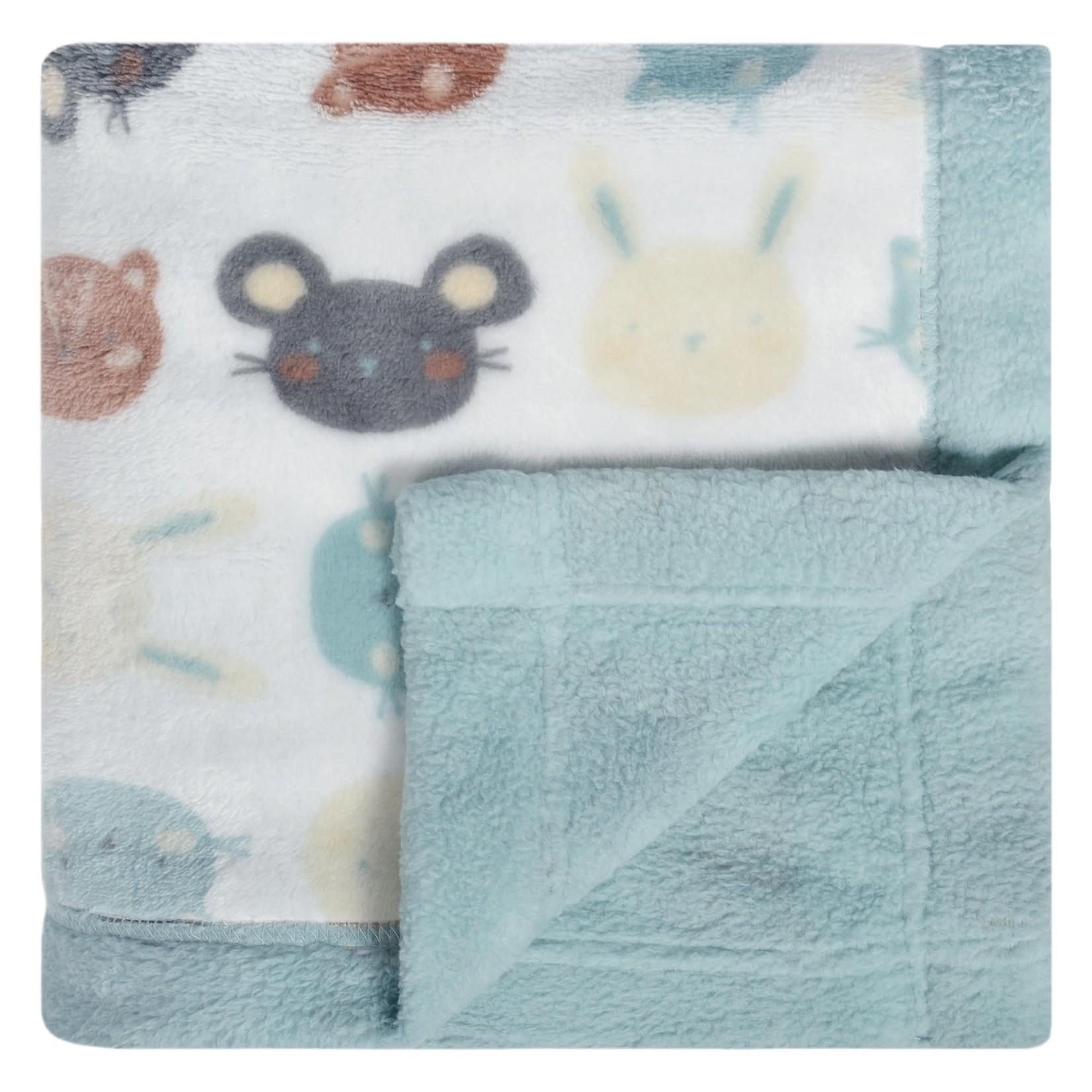 Plush Blanket - Faces