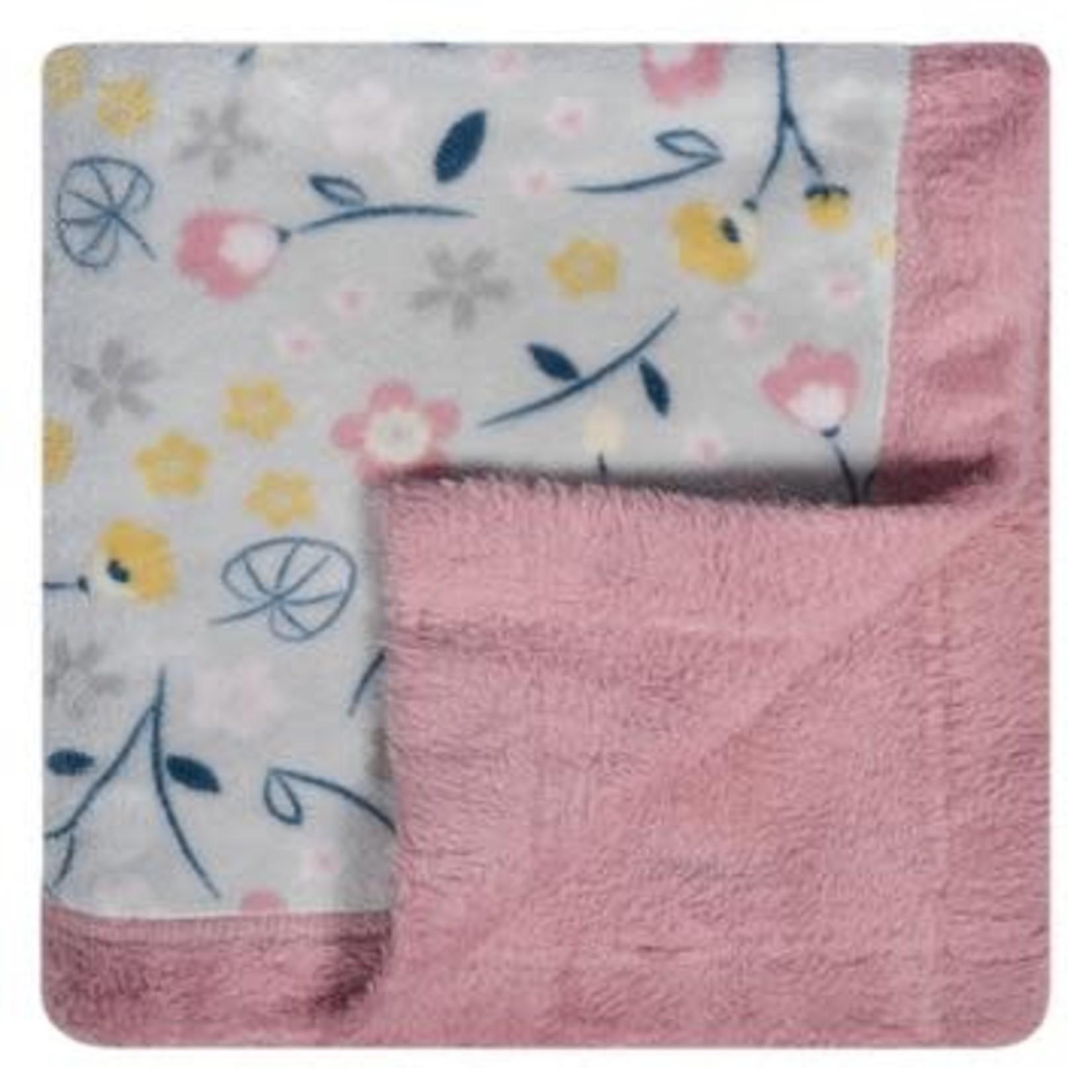 Plush Blanket - Floral