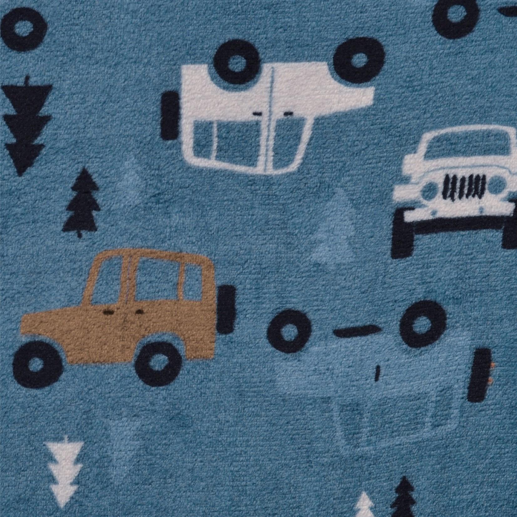Plush Sleepbag - Trucks - 1.5 TOGS