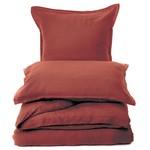 Linen Terracotta Pillow Sham - Queen