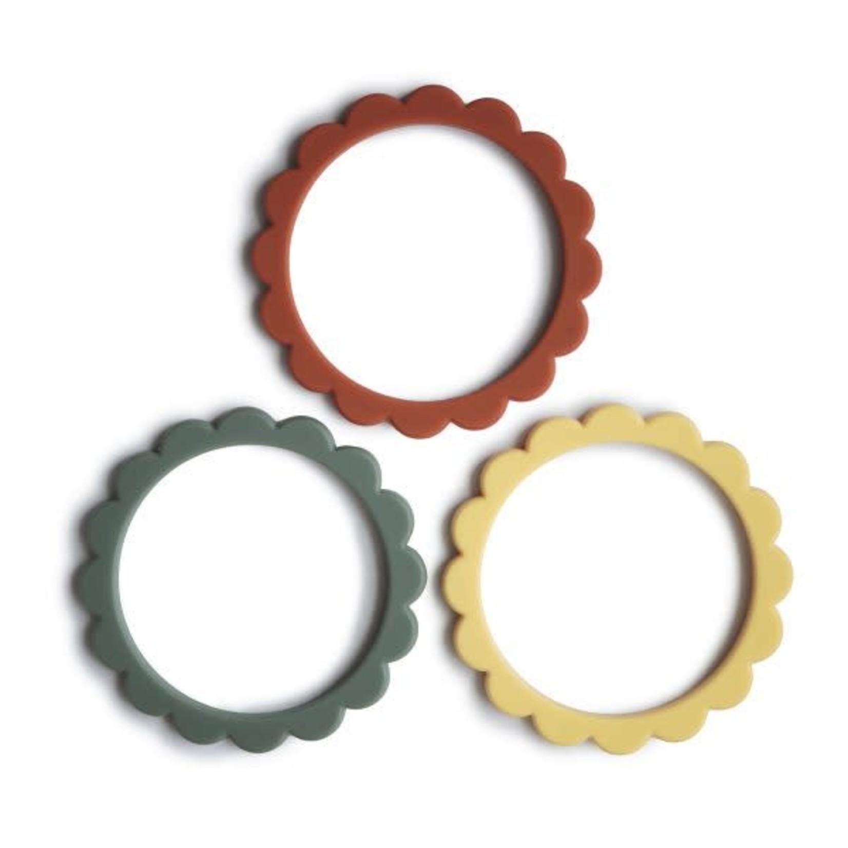 Flower Teething Bracelet