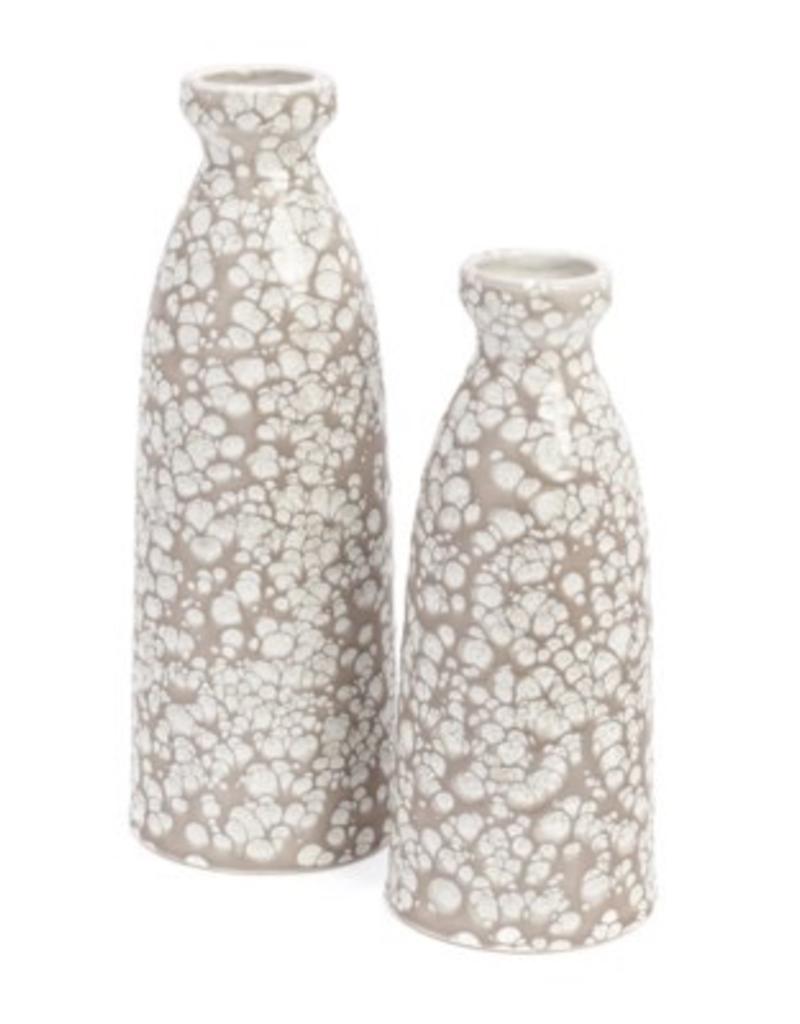 Bonavista Boise Large Ceramic Vase Taupe