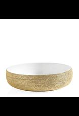 "Torre & Tagus Brava Gold Spun 10"" Bowl"