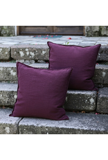Bespoke Wine linen Cushion Cover 18x18