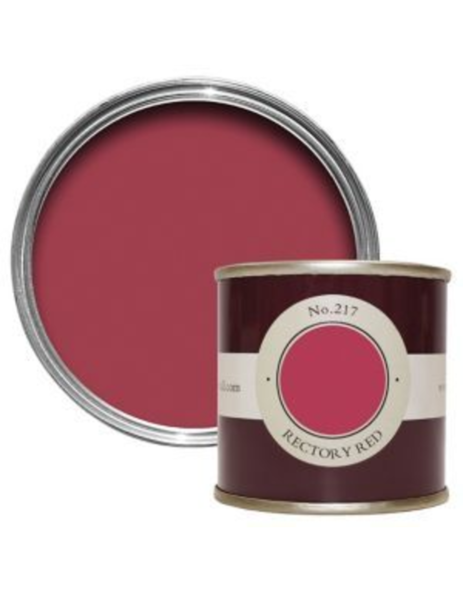 Farrow and Ball 100ml Sample Pot Rectory Red No. 217