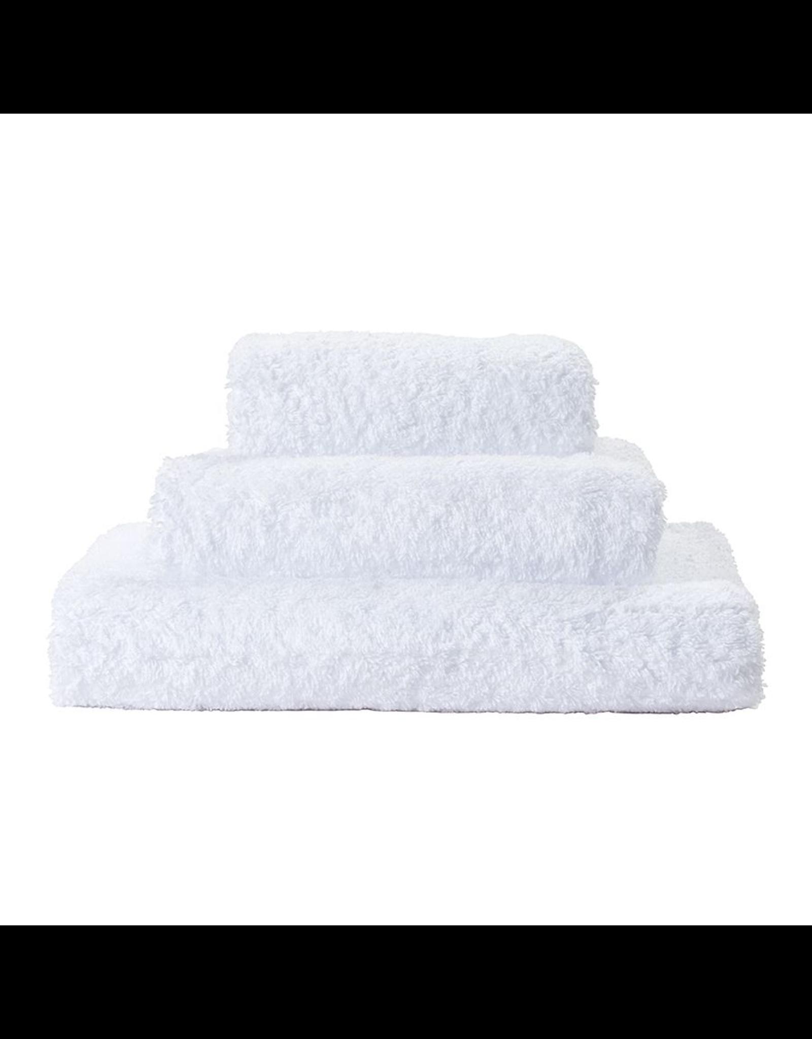 St. Geneve Super Pile Hand Towel 100% Egyptian Cotton, White