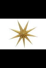 indaba Glitter paper star, Champagne L