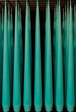 "Nicole & Co ester&erik 8 hour Taper Candle Turquoise 12.5"" pair"