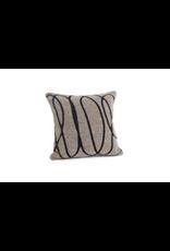 Bonavista Carole Jacquard Cushion Taupe 20x20