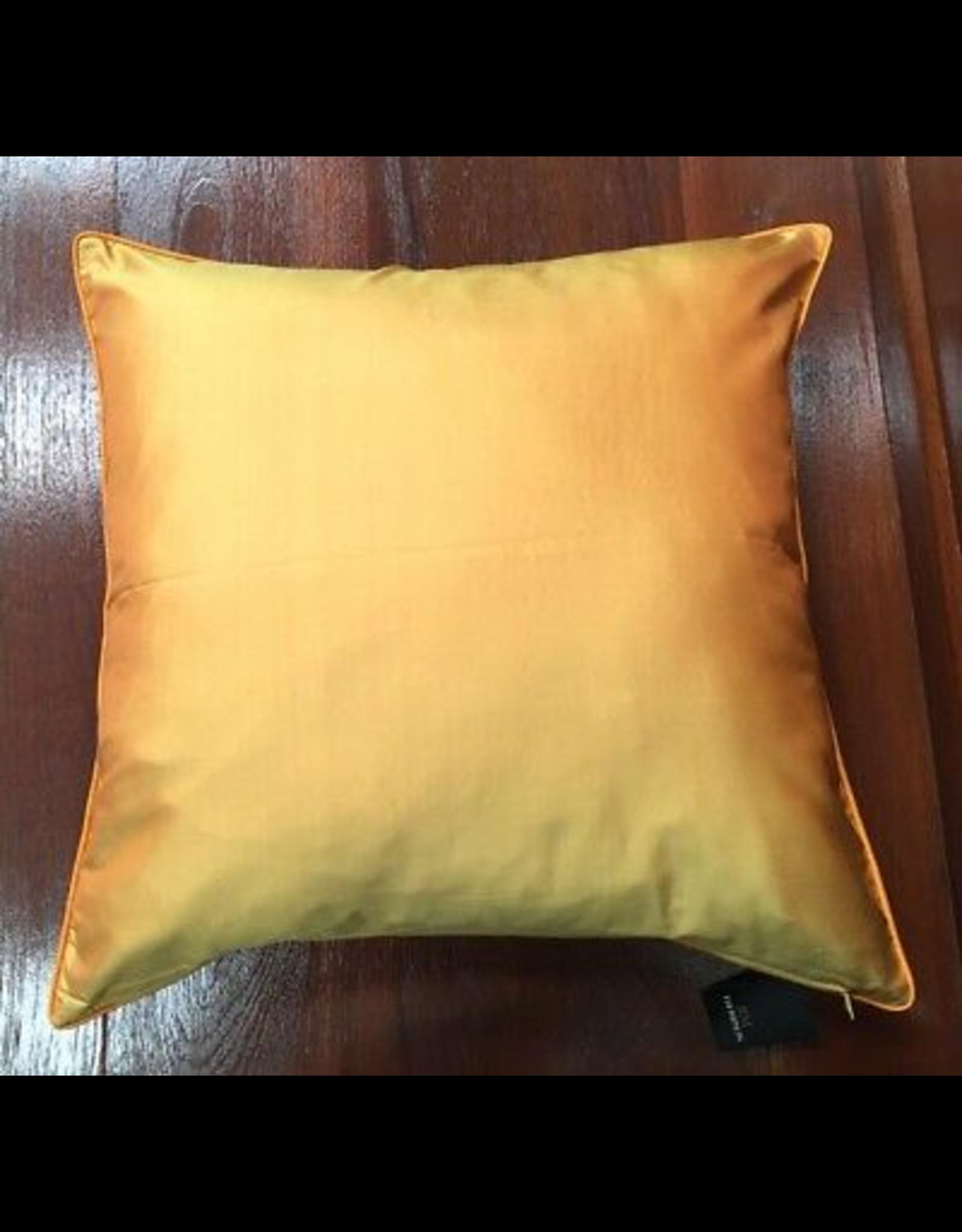 Bespoke Gold Silk Cushion Cover 16x16