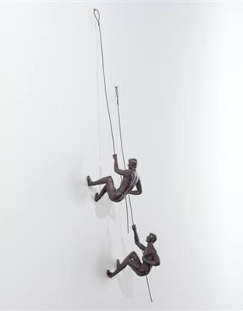 Torre & Tagus Climbing Men Wall Sculpture