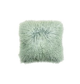 Alamode Khulan Mint Green Toss Cushion with 18 x 18 feather filler