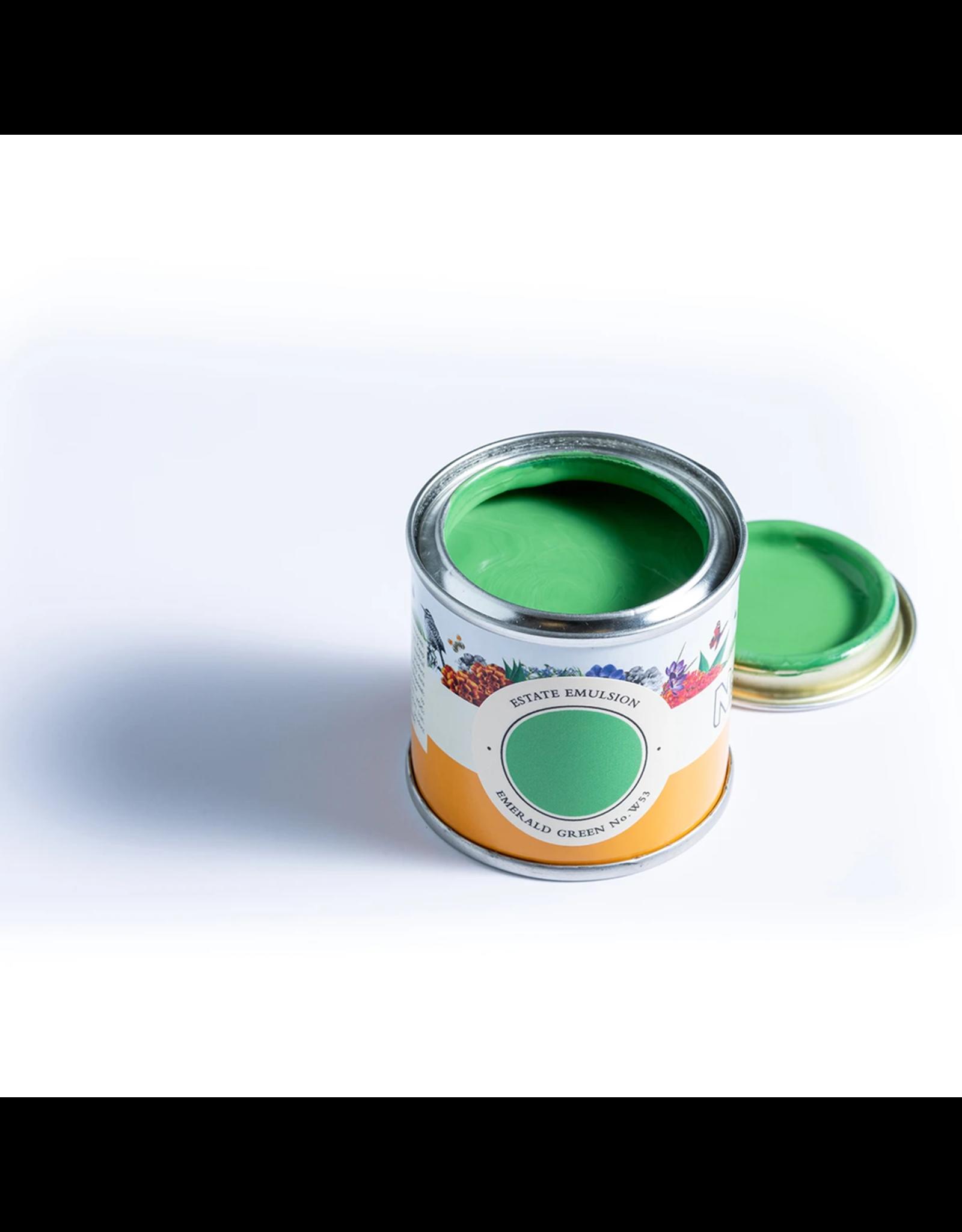 Farrow and Ball 100ml Sample Pot NHM Emerald Green No.W53