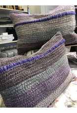 Tara Roblin Tara Roblin Textiles12X18 Lumbar Cushion Violet Sunset