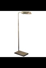 Visual Comfort Studio Adjustable Floor Lamp in Hand-Rubbed Antique Brass