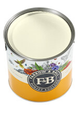 Farrow and Ball US Gallon Modern Emulsion NHM Snow White No.W1