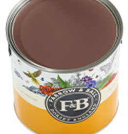 Farrow and Ball US Gallon Modern Emulsion NHM Deep Reddish Brown No.W101