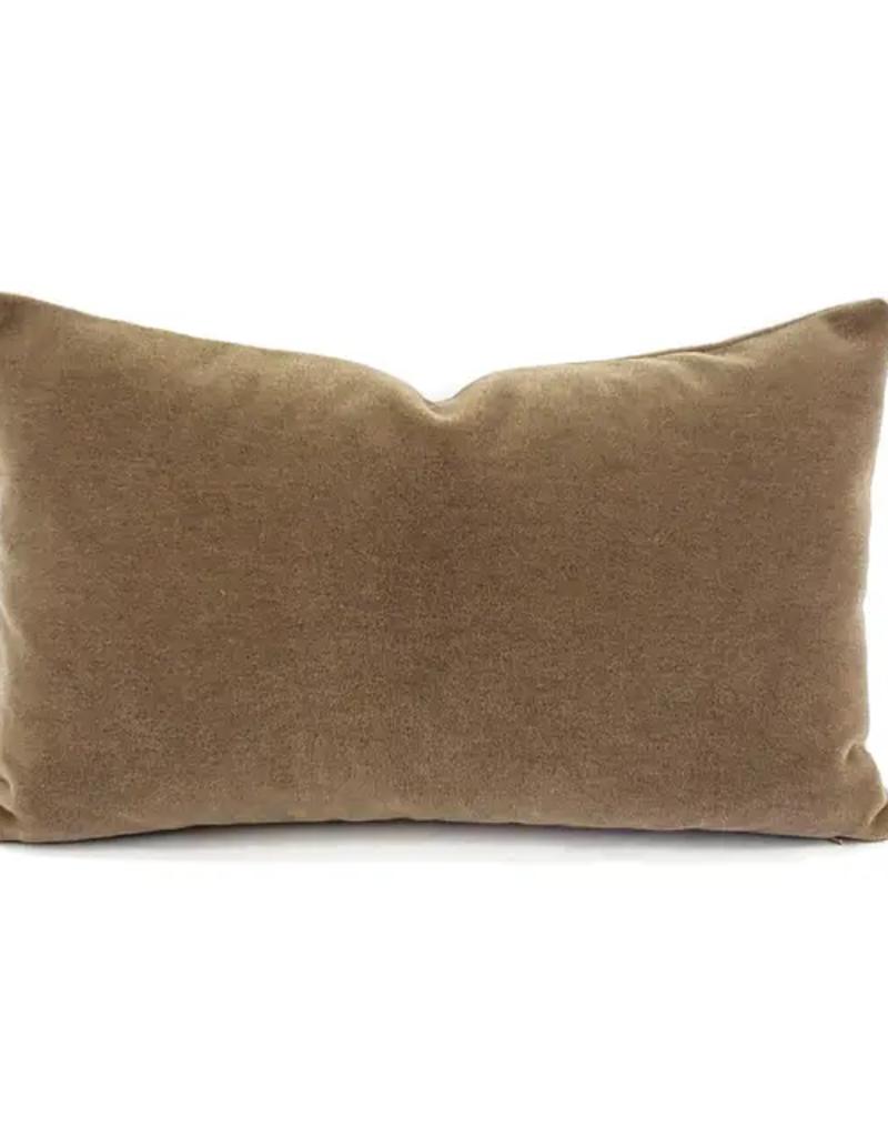 Velvet Lumbar Cushion Cover 12x20