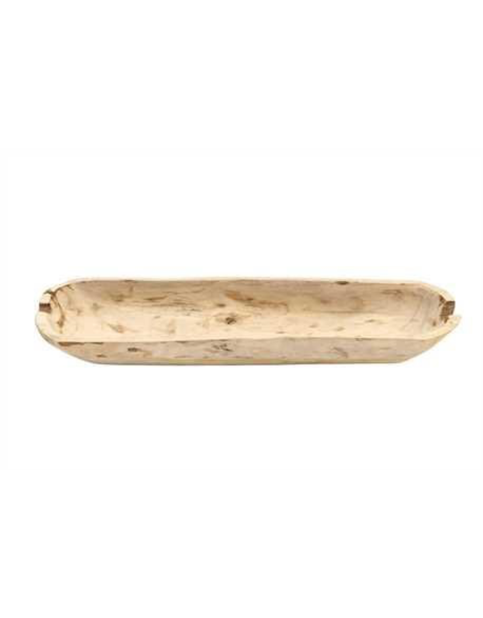 Design Home Gift and Paper Inc. Decorative Paulownia Wood Rectangle Bowl