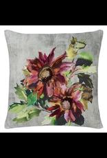 Designer's Guild Indian Sunflower Cushion Grande Berry