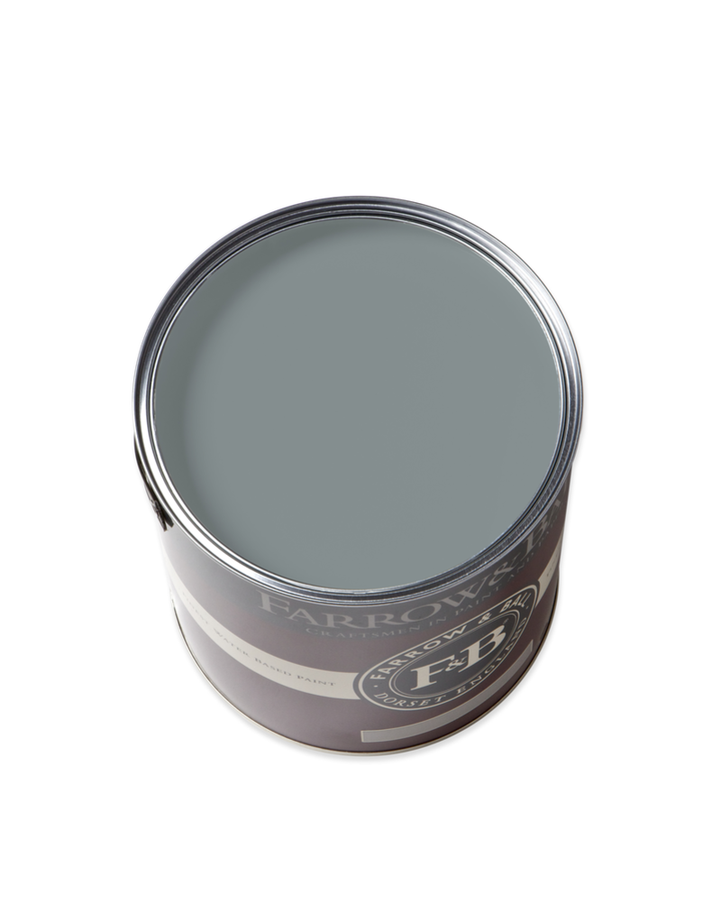 Farrow and Ball Gallon Modern Emulsion Oval Room Blue No. 85