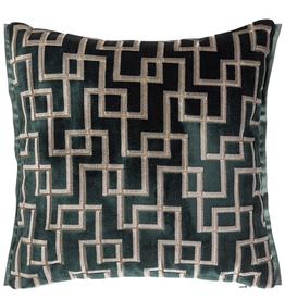 Designer's Guild DG Jeanneret Ocean Cushion17x17