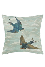 Designer's Guild Chimney Swallows Sky Blue 20x20