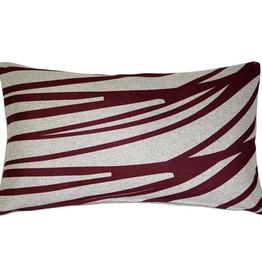 Pillow Decor Luonto Meri Red Throw Pillow 12x19