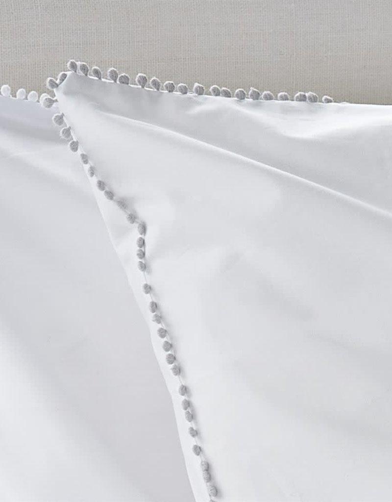 Designer's Guild Ludlow Pale Grey European Sham