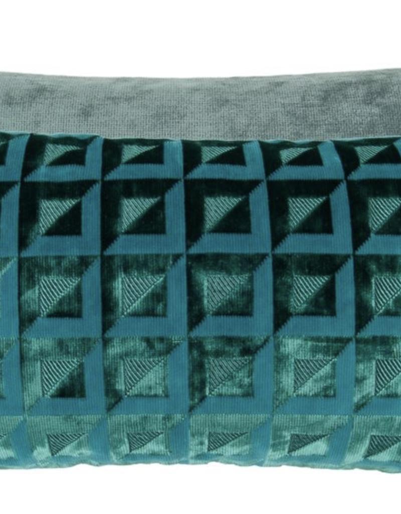 Designer's Guild Designer's Guild Monserrate Ocean Cushion 12 x 24