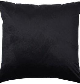 renwill Marjorie Black Velvet Cushion 24x24