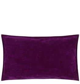 Designer's Guild DG  Rivoli Damson Cushion Cushion 12X20
