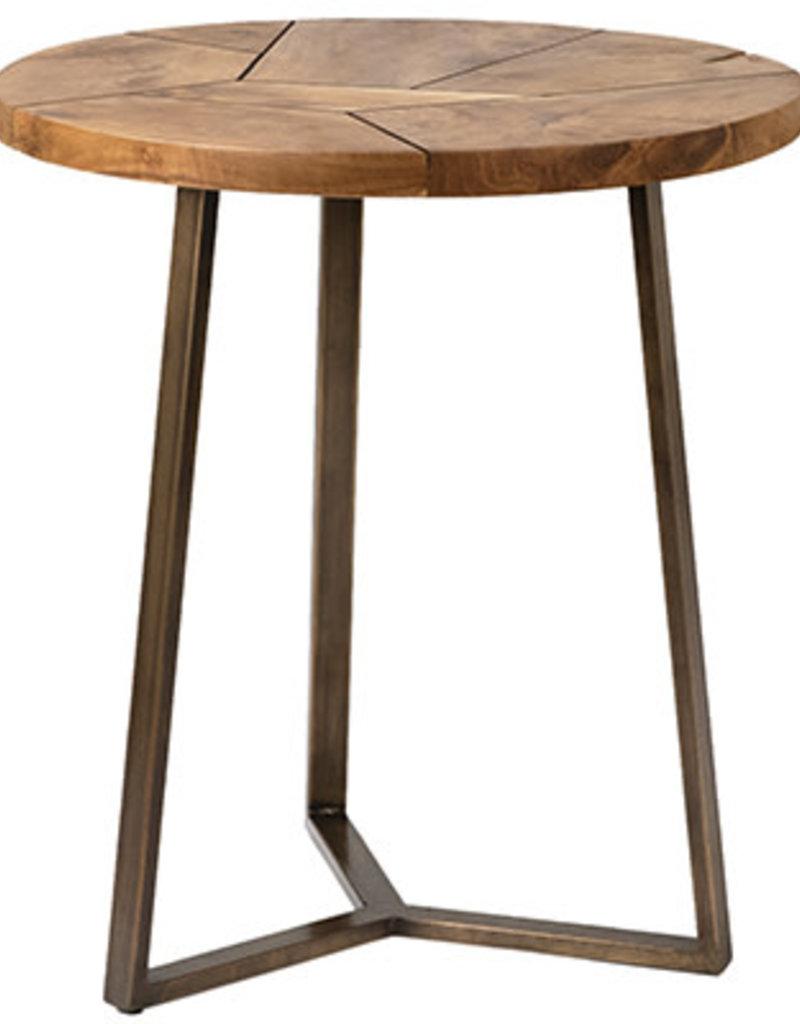 """Dovetail Dovetail - DOV17502  Karmek End Table 24""""high"""