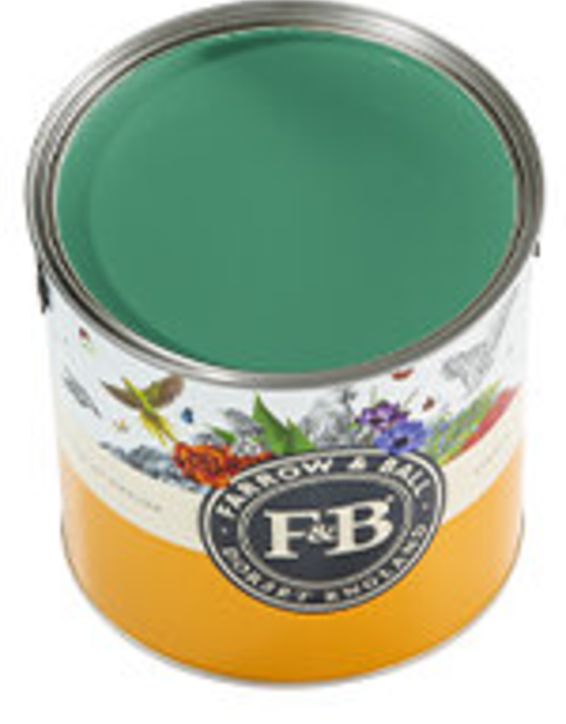 Farrow and Ball US Gallon Modern Eggshell NHM Verdigris Green No.W50