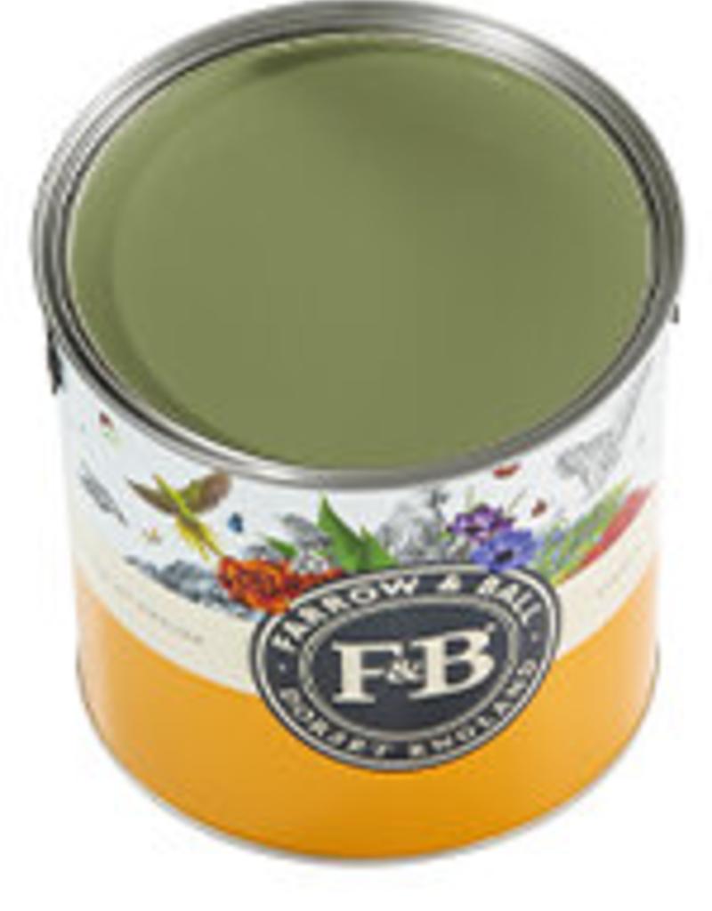 Farrow and Ball US Gallon Modern Eggshell NHM Sap Green No.W56