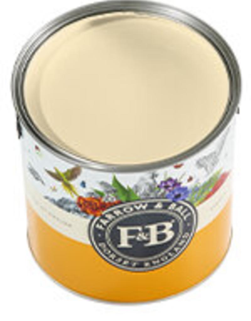 Farrow and Ball US Gallon Modern Eggshell NHM Orange coloured White No.W5