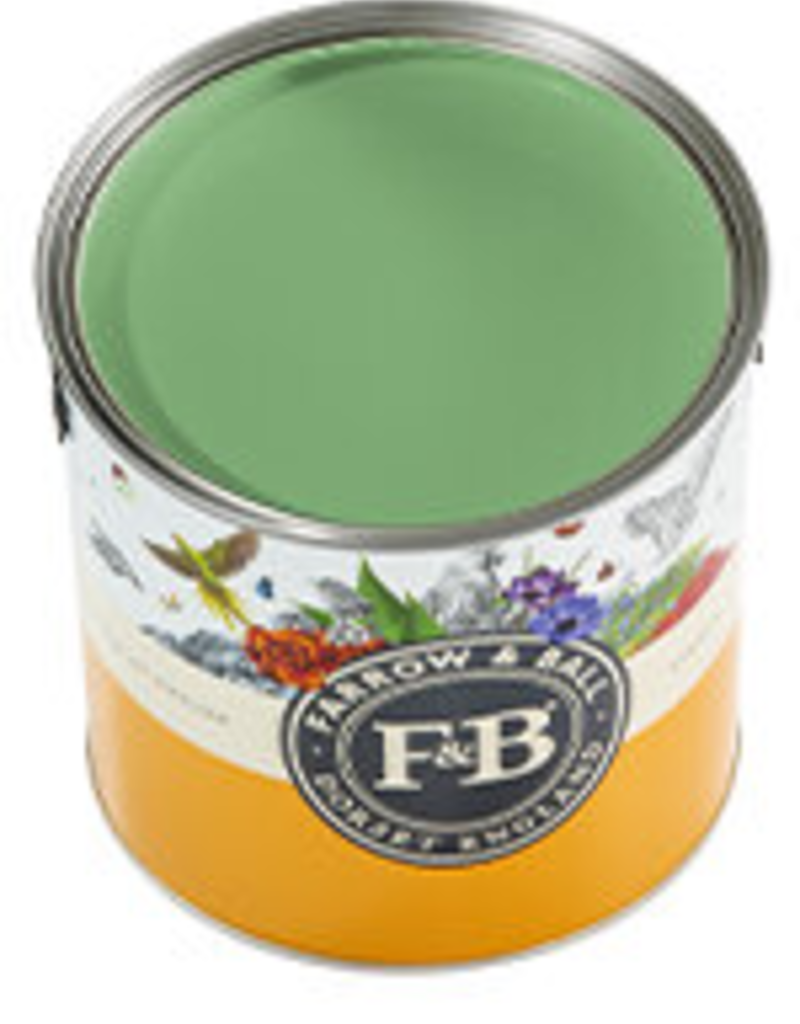 Farrow and Ball US Gallon Estate Eggshell NHM Emerald Green No.W53