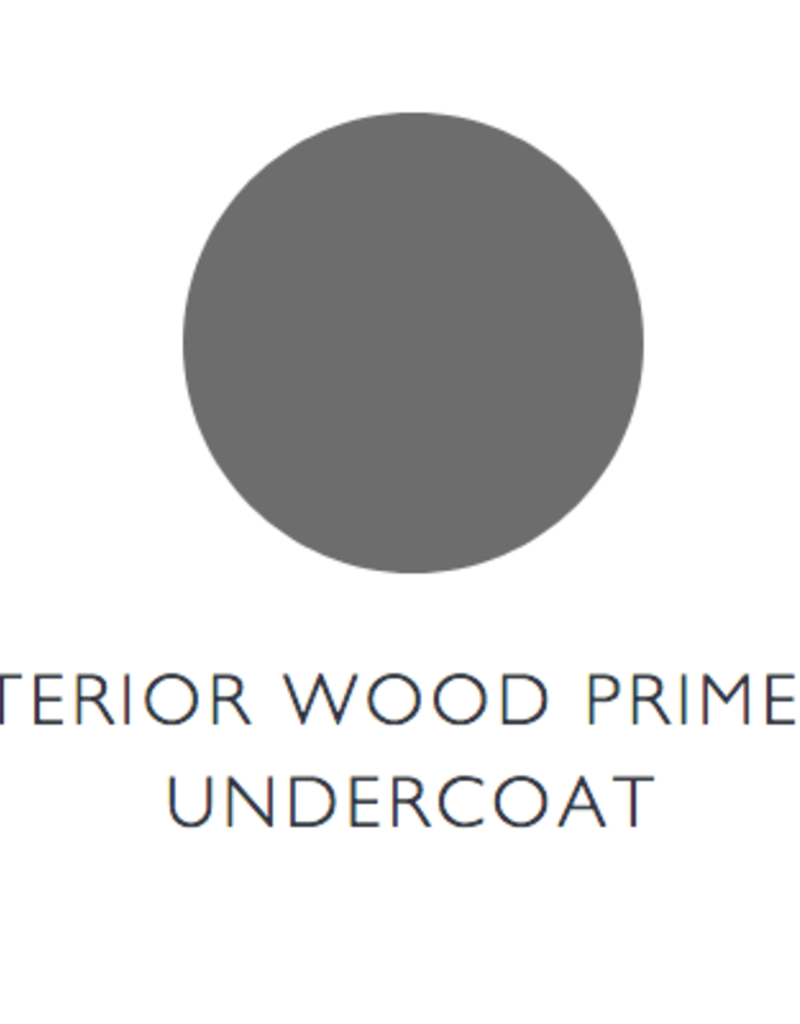 Farrow and Ball Interior Wood Primer and Undercoat - Red Tones 750ml