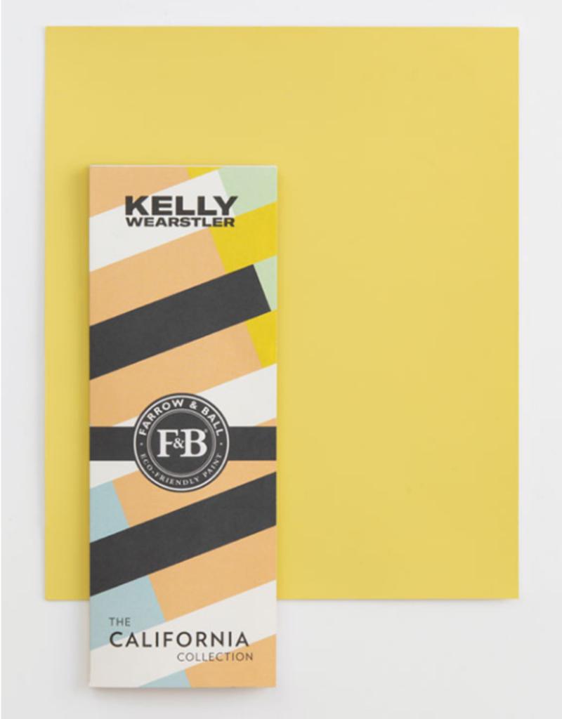 Farrow and Ball KW Citrona Sample Board