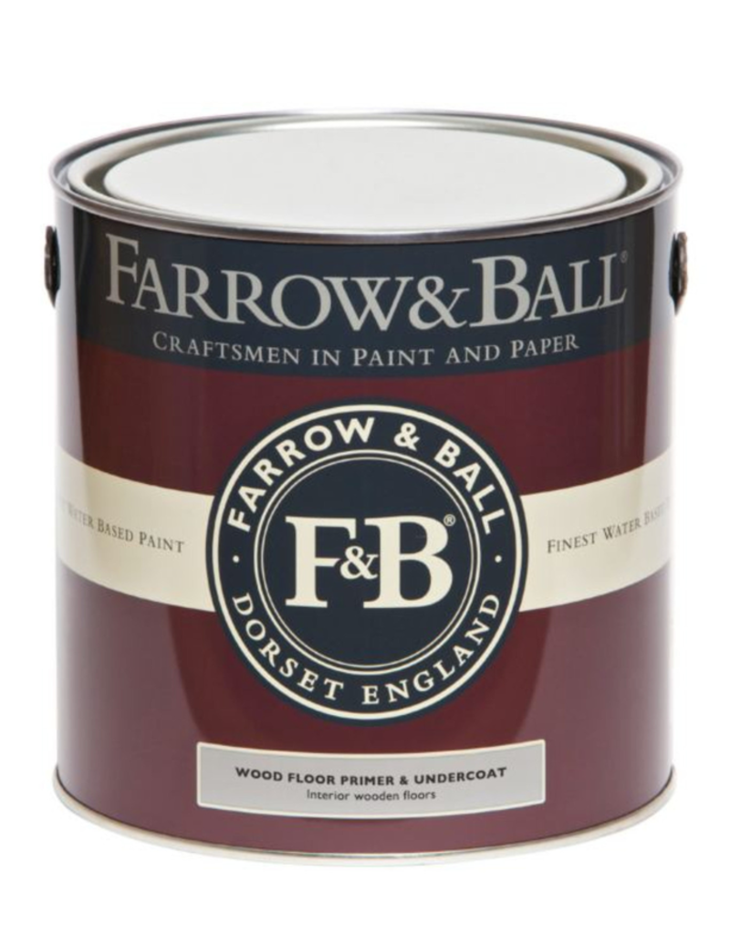 Farrow and Ball Gallon Wood Floor Primer & Undercoat Red & Warm Tones