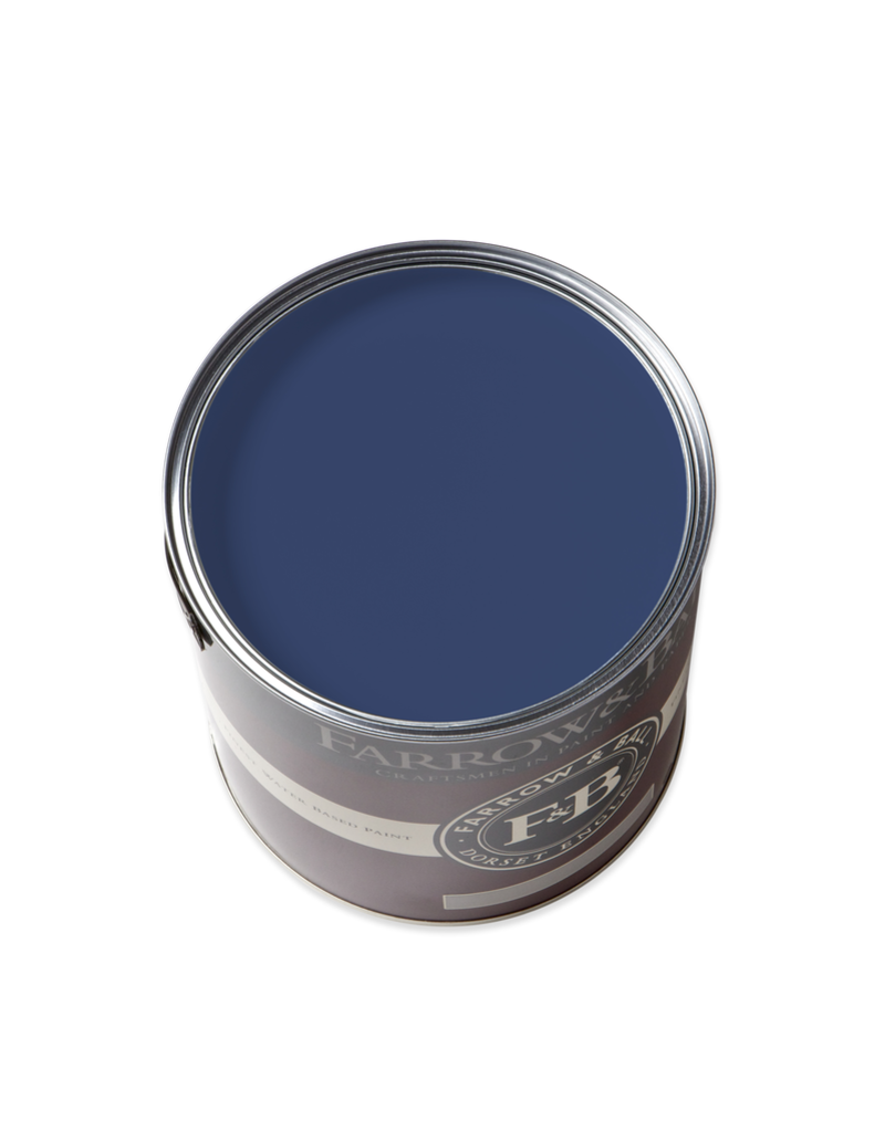 Farrow and Ball Gallon Modern Eggshell Drawing Room Blue No 253