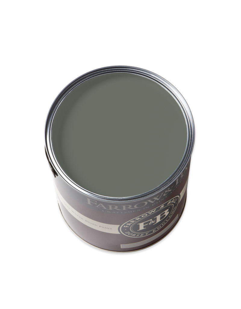 Farrow and Ball Gallon Full Gloss Green Smoke No. 47