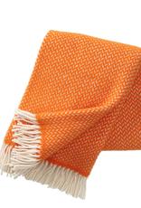 Klippan Klippan Polka Throw Orange 100% lamb's wool