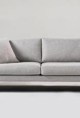 """mobital Tux Light Grey Sofa 83""""x39""""x31"""