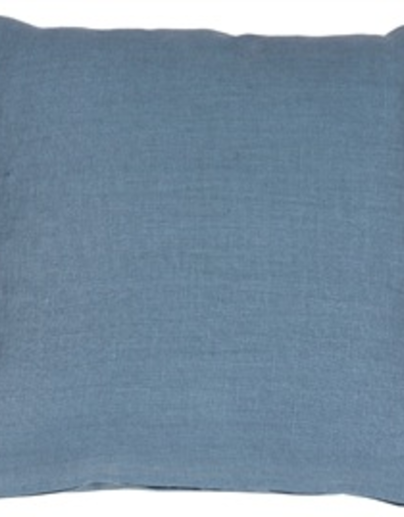 Pillow Decor 20x20 Tuscany Linen Wedgewood Blue Pillow Cover