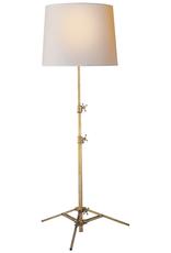 Visual Comfort Studio Floor Lamp Antique Brass